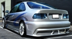 """PARE CHOC ARRIERE HONDA CIVIC V COUPE """"OLD SCHOOL"""" (1992/1995)"""