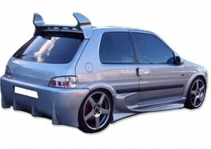 PARE CHOC ARRIERE PEUGEOT 106 PHASE 2 TYPE RACING II (1996/2003)