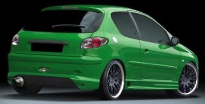 PARE CHOC ARRIERE PEUGEOT 206 ST STYLE GHOST (1998/2009)