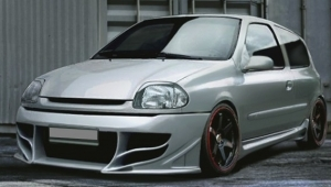 "PARE CHOC AVANT RENAULT CLIO II PHASE 1 ""LOSTBOY"" (1998/2001)"