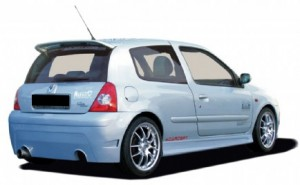 PARE CHOC ARRIERE RENAULT CLIO II PHASE 2 ASD (06-2001/2006)