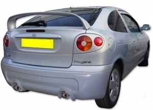 PARE CHOC ARRIERE MEGANE COUPE TYPE FURIA (1996/2002)
