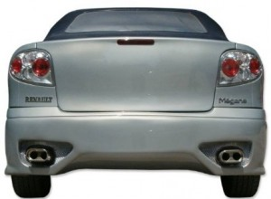 PARE CHOC ARRIERE MEGANE COUPE TYPE MODENA (1996/2002)