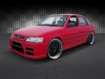 """KIT CARROSSERIE COMPLET ADAPTABLE  FORD ESCORT MK7 """"COMPASS"""" (1995/2000)"""