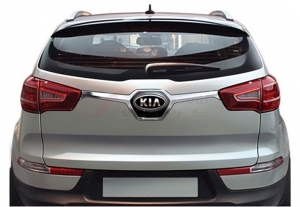 insert de coffre inter feux chrome kia sportage r 2010 2014. Black Bedroom Furniture Sets. Home Design Ideas
