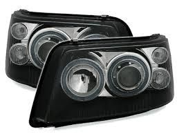 HEADLIGHTS BLACK VW BUS T5 PHASE 1 (2003/2009)
