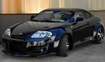 KIT CARROSSERIE COMPLET HYUNDAI COUPE 2002/2007 OUTLAW WIDE BODY