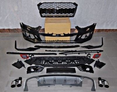 KIT CARROSSERIE COMPLET AUDI A5 B9 SPORTBACK S LINE PHASE 1 LOOK RS5 (2016/11-2019)