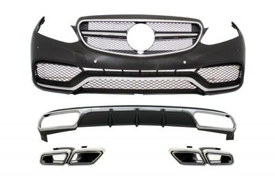 KIT CARROSSERIE COMPLET MERCEDES CLASSE E BERLINE W212 STANDARD PHASE 2 LOOK E63 AMG (04-2013/2016)