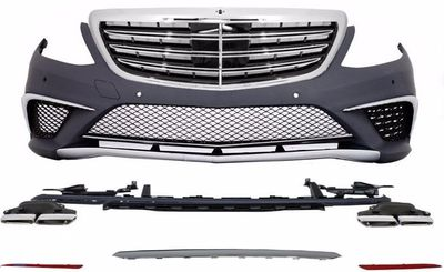 KIT CARROSSERIE COMPLET MERCEDES CLASSE S W222 AMG PHASE 1 LOOK S63 AMG (2013/06-2017)
