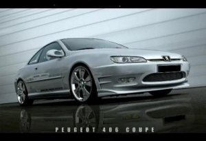 Kit carrosserie complet peugeot 406 coupe eclusiv line evo - Pare choc 406 coupe tuning ...