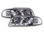 "PHARES A LEDS DEVIL EYES ""DRL LOOK"" AUDI A4 B5 PHASE 2 (1999/2001)"
