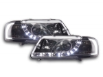 "PHARES A LEDS DEVIL EYES ""DRL LOOK""AUDI A3 8L PHASE 1 (1996/08-2000)"