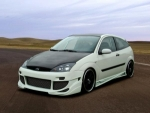 """PARE CHOC AVANT FORD FOCUS """"WING DESIGN"""" ST STYLE (1998/2004)"""