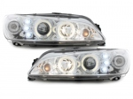 PHARES ANGEL EYES LEDS PEUGEOT 306 PHASE 2 (1997/2002)