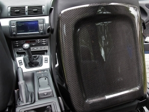 Coques de sieges avant en veritable carbone bmw e46 coupe for Bmw e46 interieur
