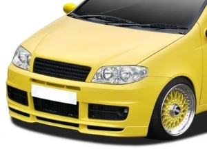 LAME DE PARE CHOC AVANT FIAT PUNTO II PHASE 2 2004/2006 RD STYLE YELLOW