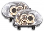 "PHARES ANGEL EYES RENAULT CLIO II PHASE 1 (98/01) AVEC TECHNOLOGIE CCFL ""NEON EYES"""