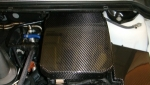 COUVRE BATTERIE EN CARBONE FORD FOCUS II  (2005/2008)