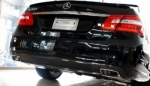 DIFFUSEUR ARRIERE CARBONE MERCEDES CLASSE E W212 AMG PHASE 1 2009/03-2013 (E350,E550)