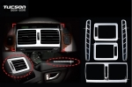 KIT DE REVETEMENT INTERIEUR CHROME 5 PIECES HYUNDAI TUCSON 2005/2009