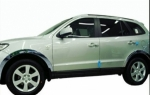 SET D' ENJOLIVEURS DE PASSAGES DE ROUES CHROMES HYUNDAI SANTA FE 2007/2010