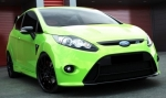 PARE CHOC AVANT FORD FIESTA MK7 PHASE 1 (2008/2013) MX DESIGN LOOK FOCUS RS