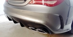 DIFFUSEUR ARRIERE MERCEDES CLA AMG BLACK SERIES STYLE ( EMBOUTS AMG OPTIONNELS)