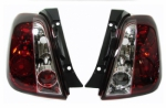 FEUX ARRIERES CLEAR RED OU SMOKE/RED FIAT 500