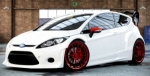 KIT CARROSSERIE COMPLET WIDE BODY FORD FIESTA MK7 PHASE 1 (2008/2013) 3 PORTES MAXI RALLY