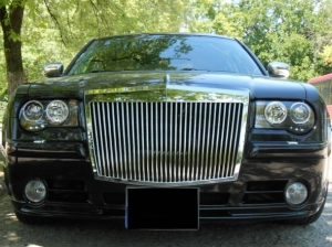 pare choc avant complet chrysler 300c 2004 2010 look rolls royce phantom. Black Bedroom Furniture Sets. Home Design Ideas