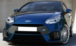 """PARE CHOC AVANT FORD FOCUS III PHASE 1 STANDARD MX """"LOOK FOCUS RS"""" (2011/10-2014)"""