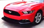LAME DE PARE CHOC AVANT CARBONE HENESSY STYLE FORD MUSTANG VI PHASE 1 (2015/2018)