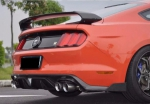 """DIFFUSEUR ARRIERE EN CARBONE """"EVO M STYLE"""" FORD MUSTANG VI (2015+)"""