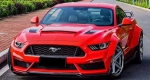 LAME DE PARE CHOC AVANT CARBONE EVO M STYLE FORD MUSTANG VI PHASE 1 (2015/2018)