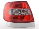 FEUX CRISTAL/RED AUDI A4 BERLINE TYPE B5 94-01 FLINE