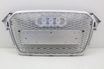 CALANDRE TYPE RS4 CHROME/SILVER AUDI A4/S4 B8 FACELIFT (2012/2015)
