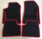 jeu de tapis alfa romeo giulietta 4 pieces gamme script giulietta color. Black Bedroom Furniture Sets. Home Design Ideas