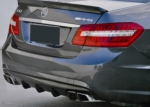 DIFFUSEUR ARRIERE CARBONE MERCEDES W212 E63 AMG DTM STYLE (2011/2014)