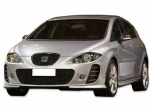"KIT CARROSSERIE COMPLET SEAT LEON II 1P PHASE 1 LOOK ""FR""  (2005/2009)"