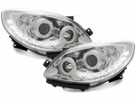 """PHARES A LEDS DEVIL EYES """"DRL LOOK"""" RENAULT TWINGO II PHASE 1 (2007/2011)"""