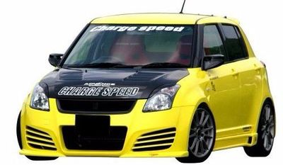 KIT CARROSSERIE COMPLET SUZUKI SWIFT II CHARGESPEED 3 OU 5 PORTES (2005/2010)