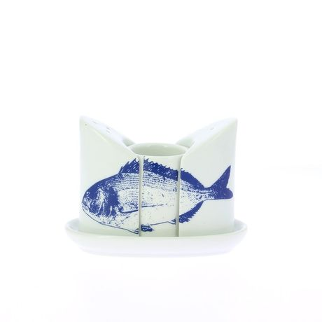 PORCELAINE ARTISANALE Collection Poissons
