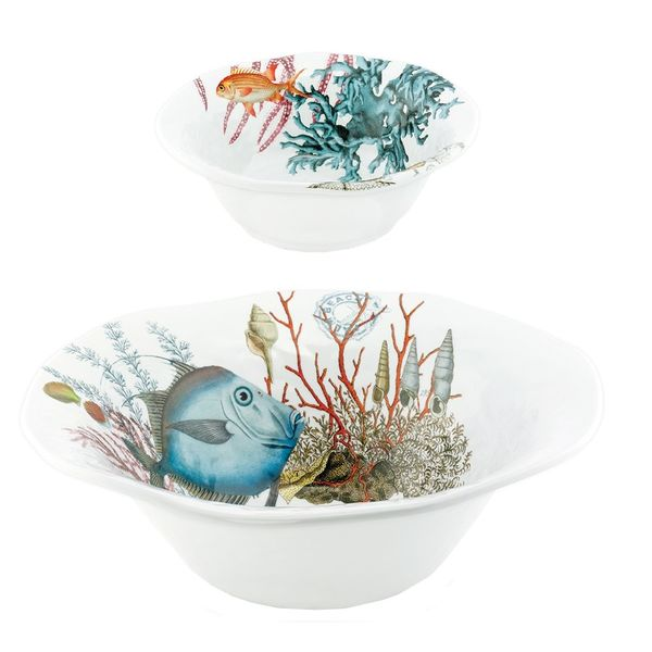 4 ASSIETTES A DESSERT SEALIFE
