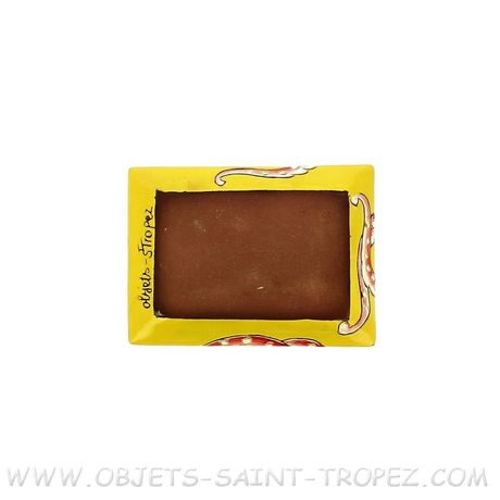 COUPELLE RECTANGLE EN TERRE VERNISSEE