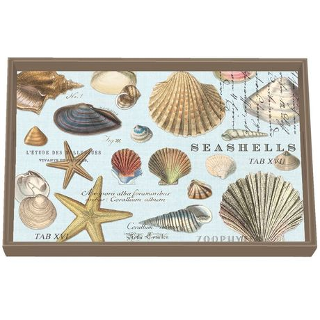 PLATEAU RECTANGLE PM SEASHELLS