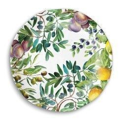 ASSIETTE PLATE TUSCAN GROVE