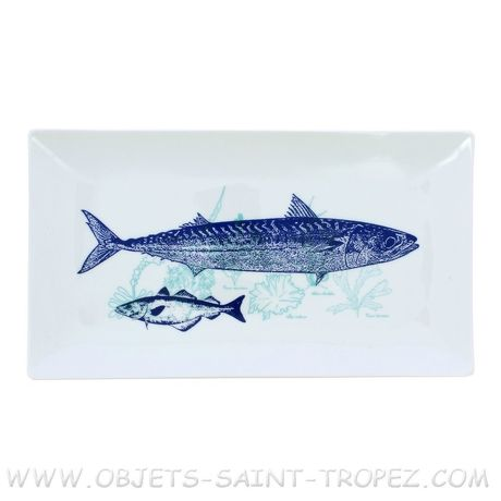 PLAT RECTANGLE Porcelaine