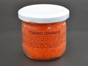 Tobiko orange oeufs de poisson volant verrine 100g