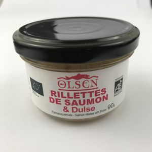 Rillettes de saumon à la dulse AB verrine 90g